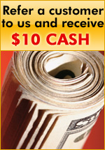 Receive a Ten Dollar Discount for Referring a friend